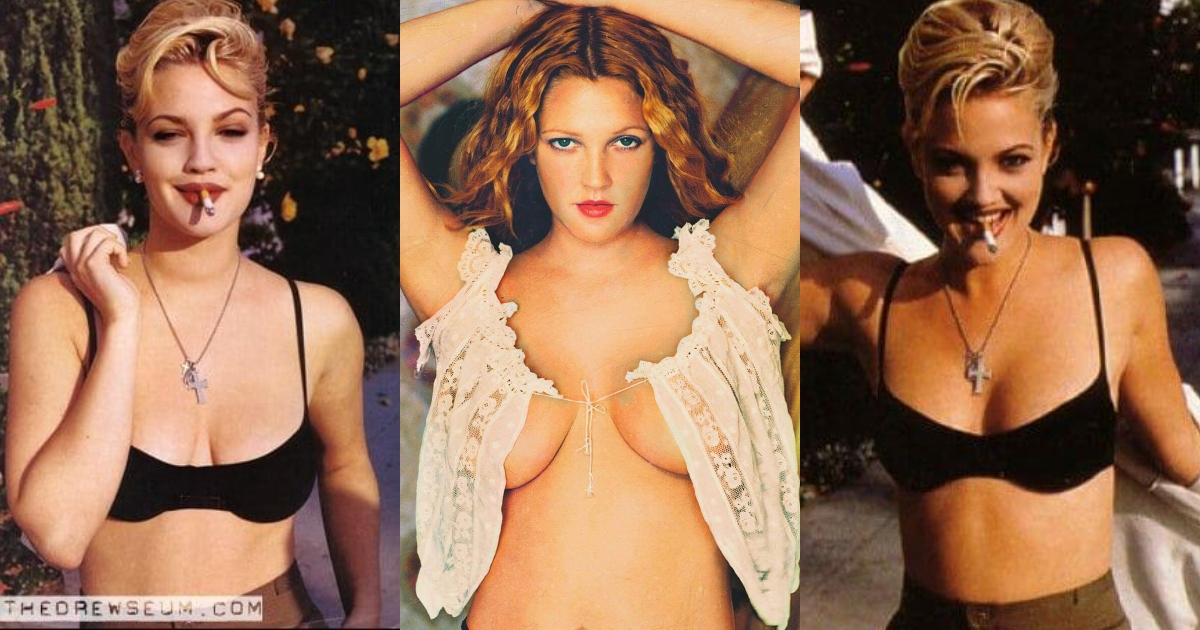 61 Sexiest Drew Barrymore Boobs Pictures Will Make You Envy The Photographer