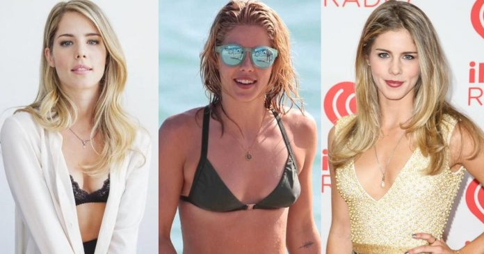 61 Sexiest Emily Bett Rickards Boobs Pictures Show Off Her Awesome Bosoms