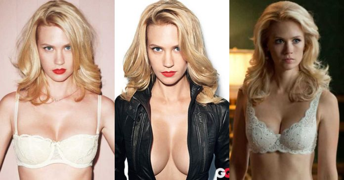 61 Sexiest January Jones Boobs Pictures An Exquisite View In Every Angle