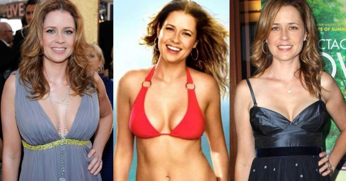 61 Sexiest Jenna Fischer Boobs Pictures Show Off A Different Appearance In Each Attire