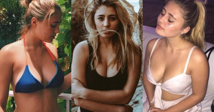 61 Sexiest Lia Marie Johnson Boobs Pictures Are Just The Right Size To Look And Enjoy