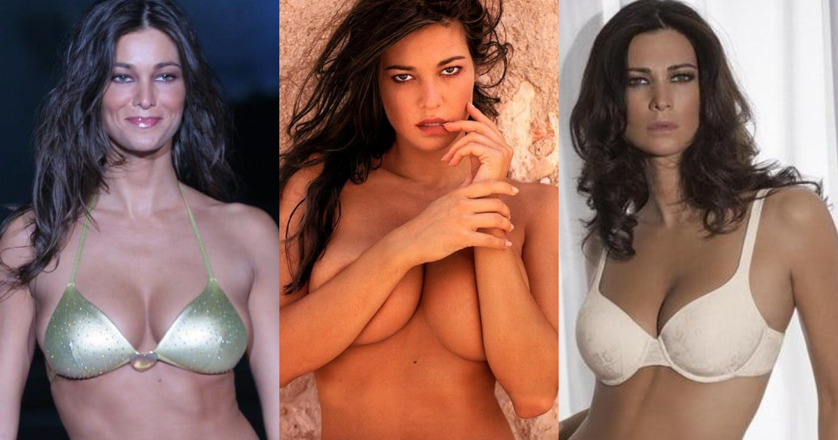 61 Sexiest Manuela Arcuri Boobs Pictures Will Make You Envy The Photographer