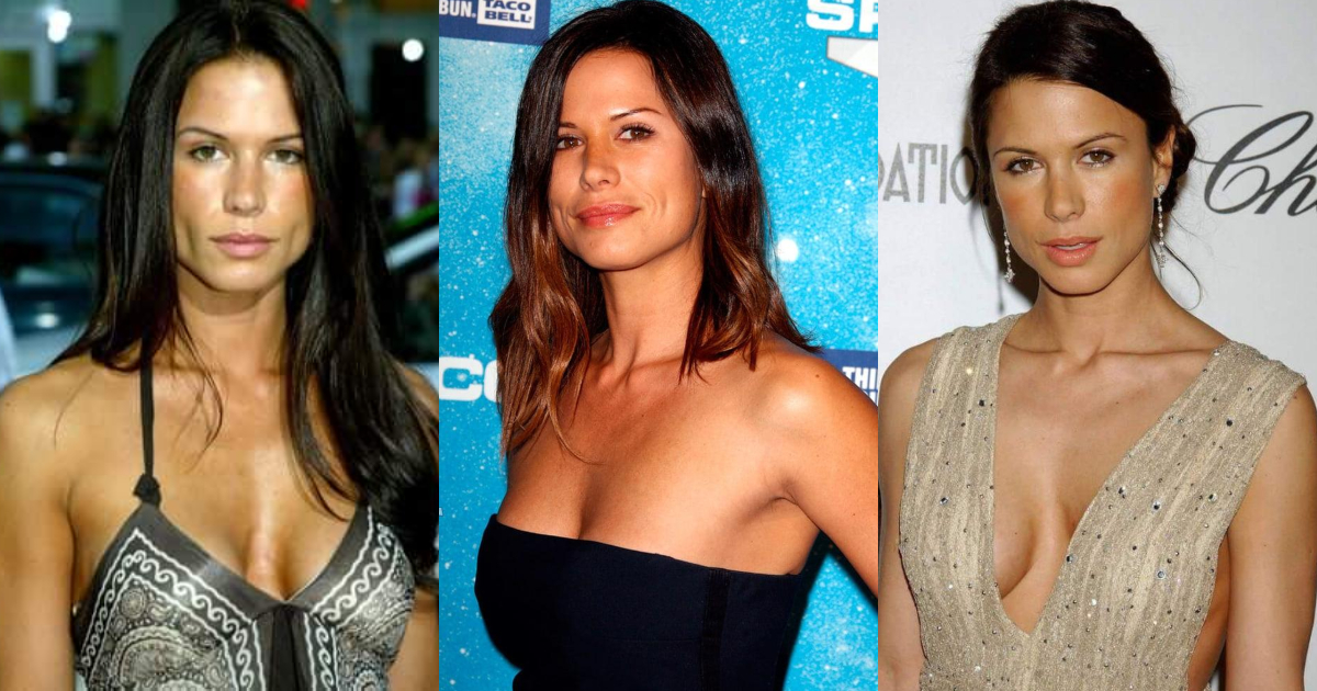 61 Sexiest Rhona Mitra Boobs Pictures Are Just The Right Size To Look And Enjoy