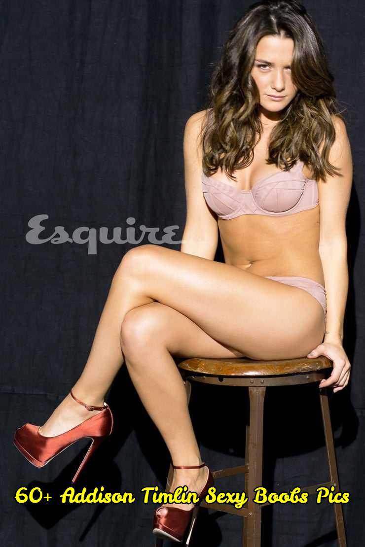 Addison Timlin sexy boobs pics