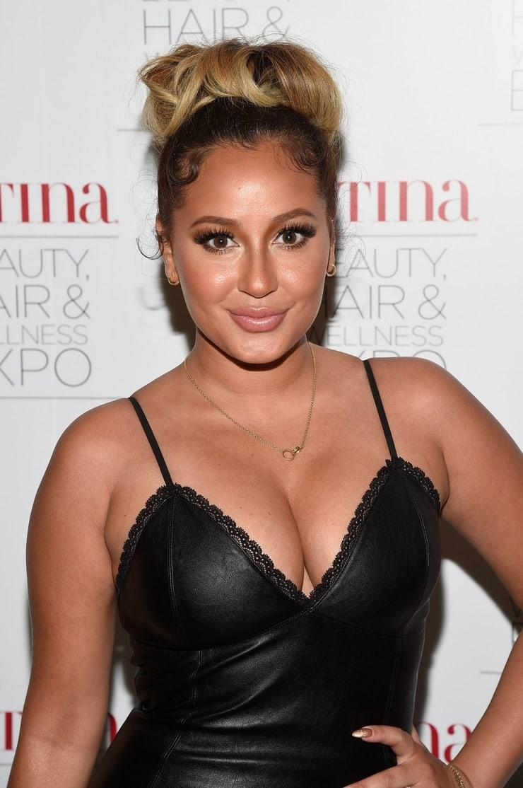 Adrienne Houghton cleavage pic