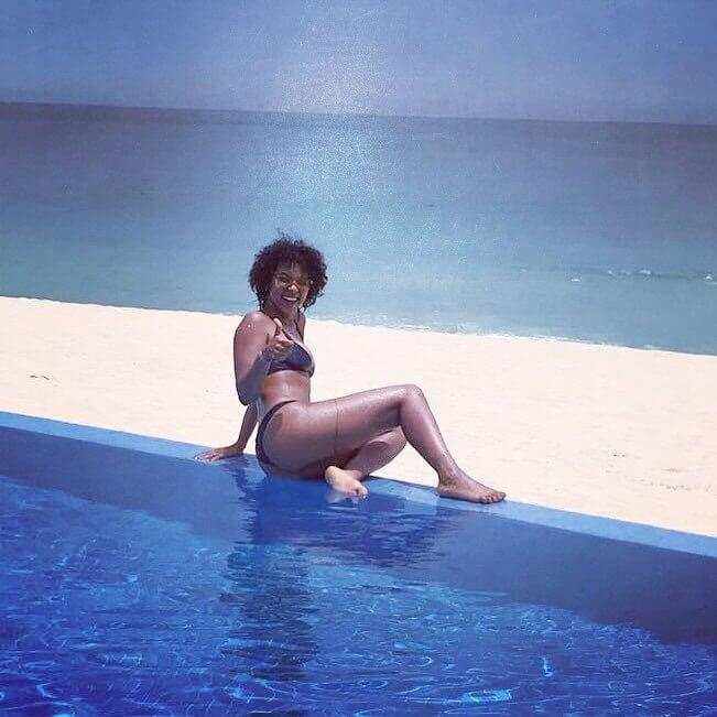Alexandra Shipp bikini pics