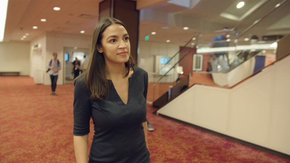 Alexandria Ocasio-Cortez hot photo