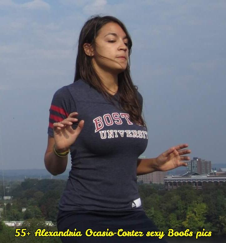 Alexandria Ocasio-Cortez sexy tits pic