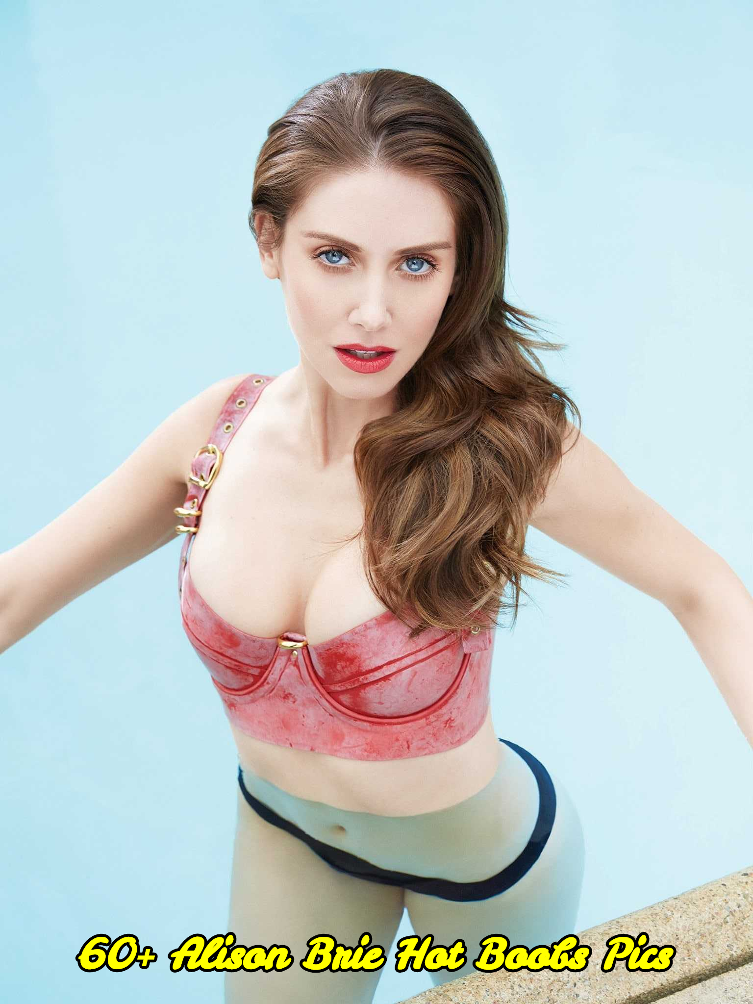 Alison Brie hot boobs pics
