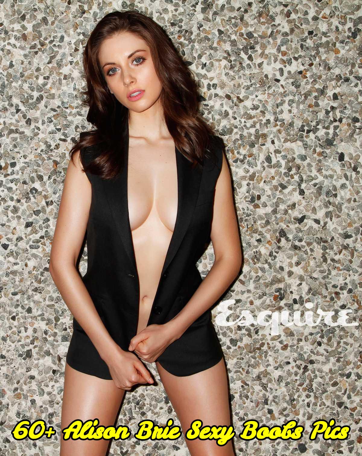 Alison Brie sexy boobs pics