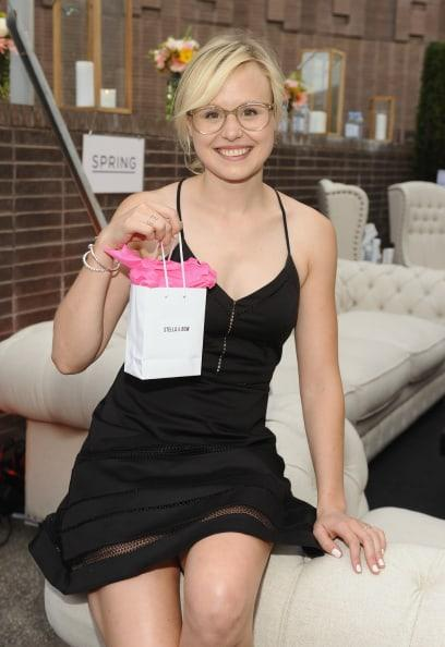 Alison Pill hot look