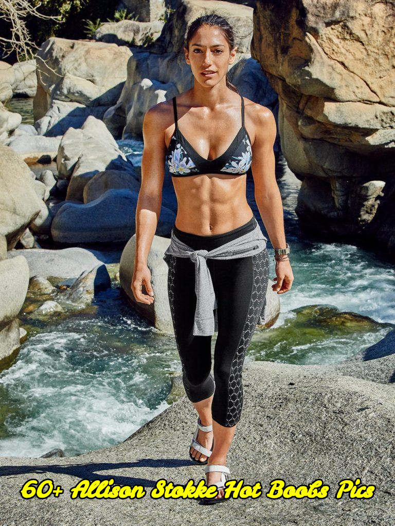 Allison Stokke hot boobs pics