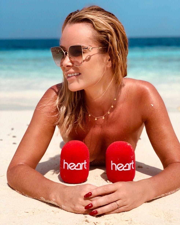 Amanda Holden hot pic