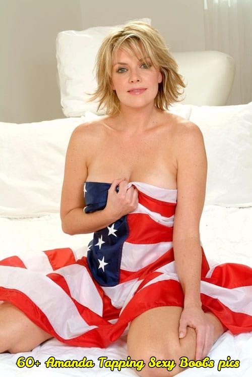 61 Hottest Amanda Tapping Boobs Pictures Are A Perfect Fit To Make