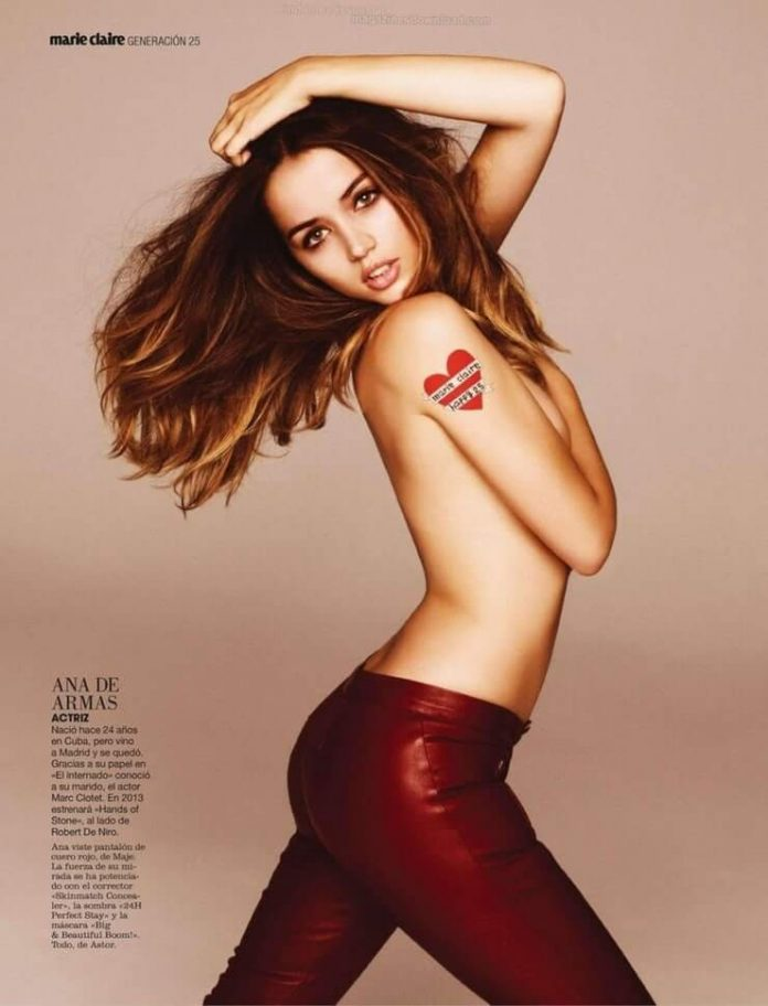 Ana de Armas sexy side butt pics