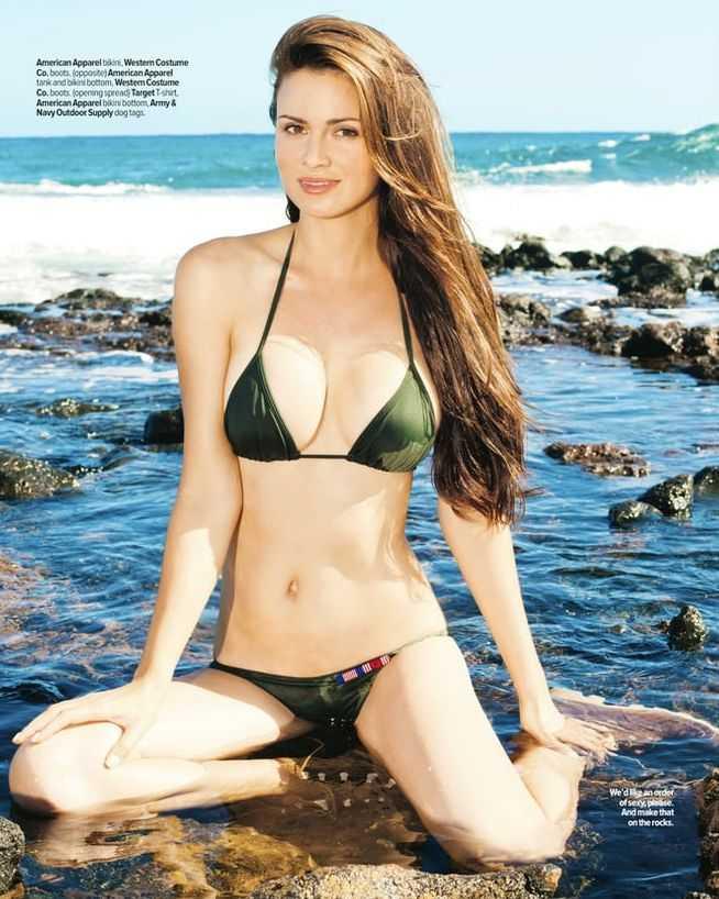 April Rose hot bikini pictures