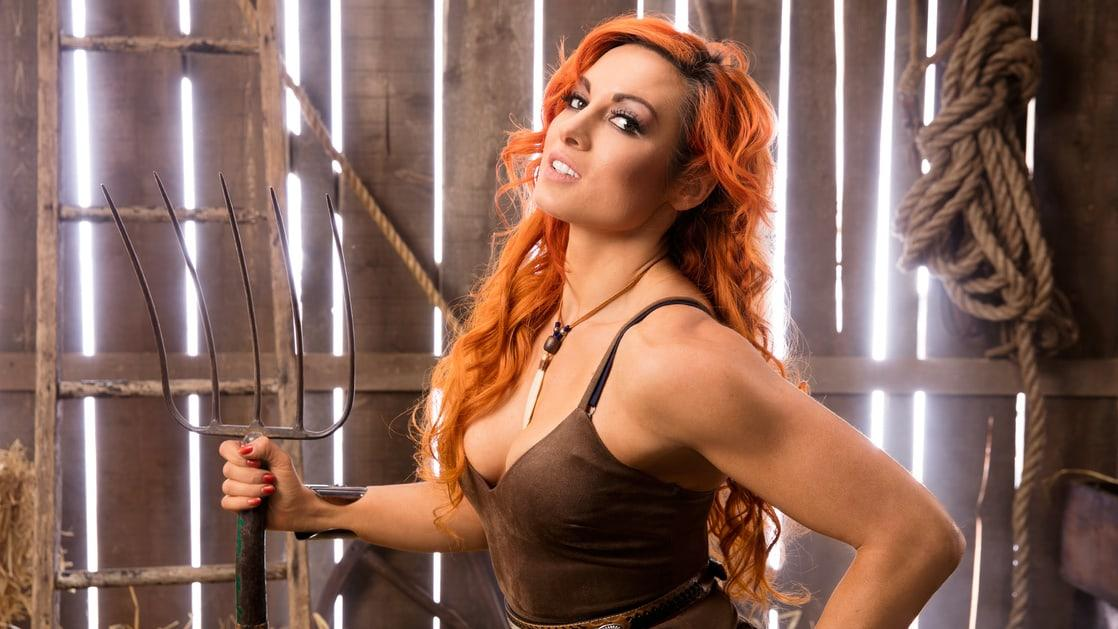 Becky Lynch cleavage photo