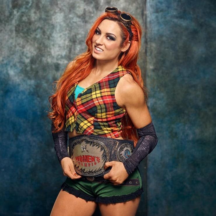 Becky Lynch hot look