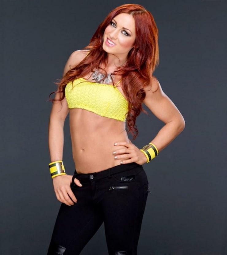 Becky Lynch sexy look
