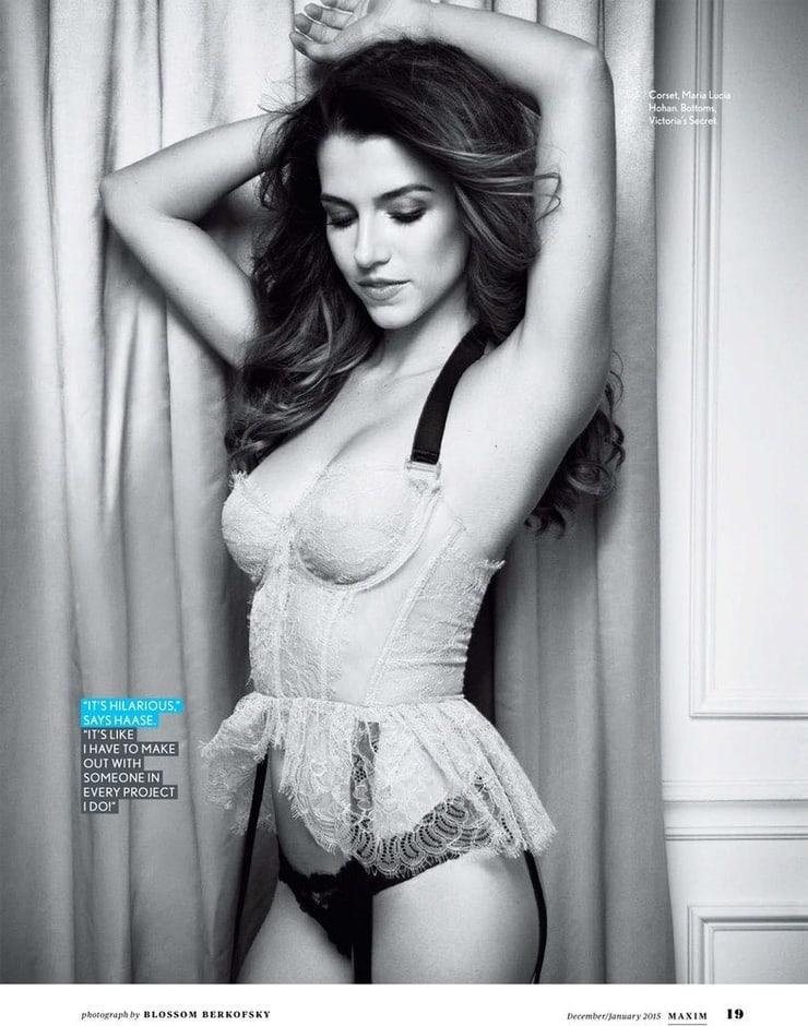 Bianca Haase hot lingerie pics