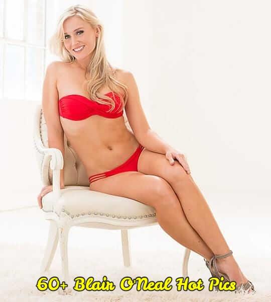 Blair O'Neal red bikini pics