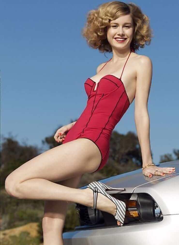 Brie Larson hot look