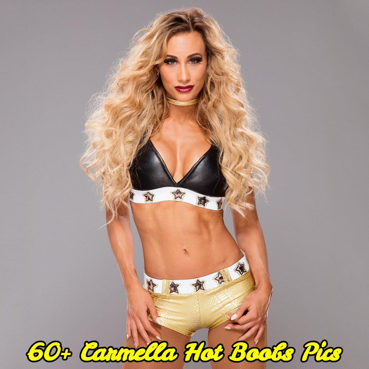 Carmella hot boobs pics