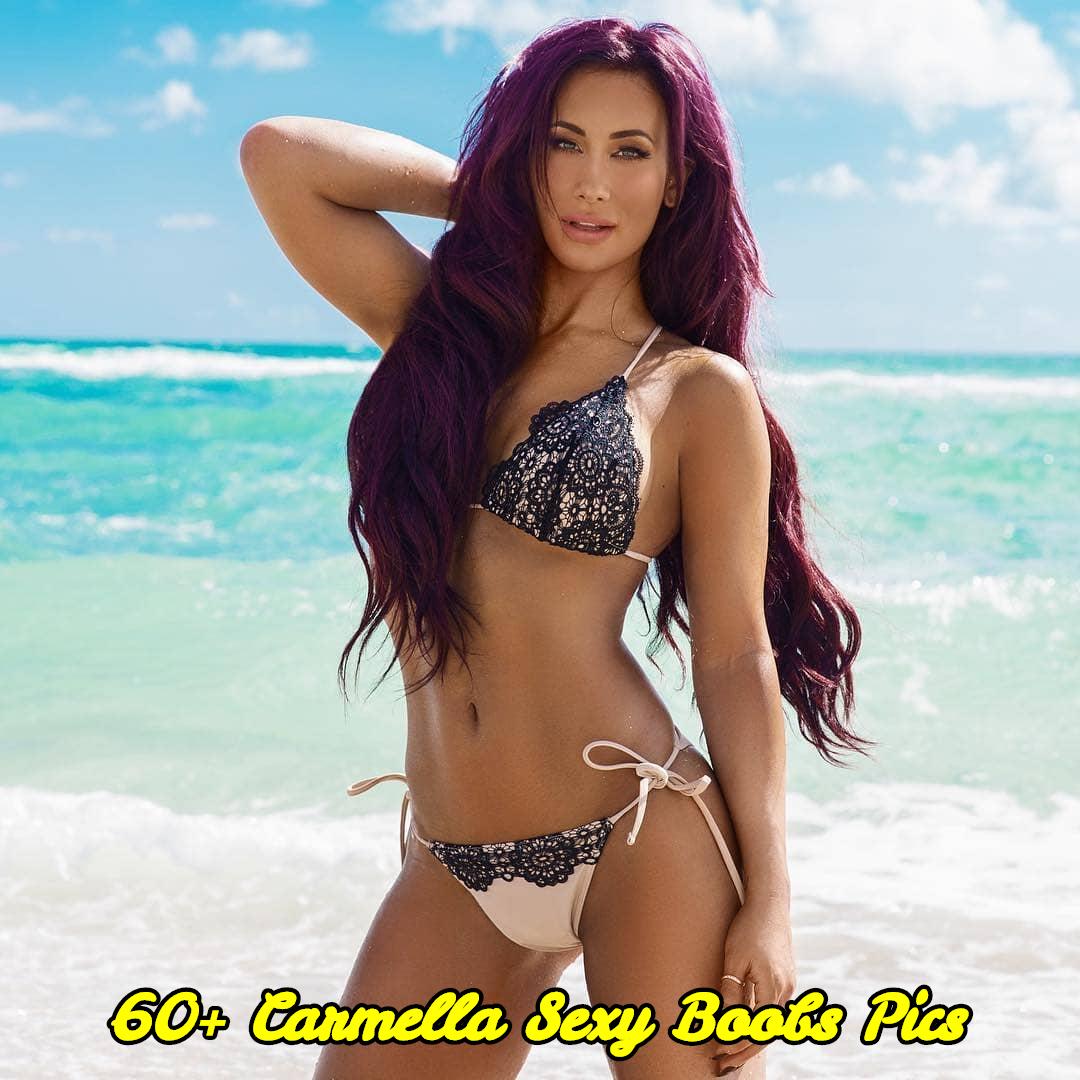 Carmella sexy boobs pics