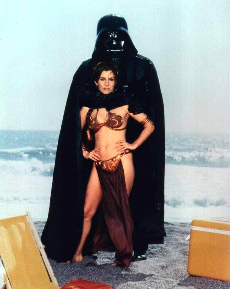 Carrie Fisher big busty pics