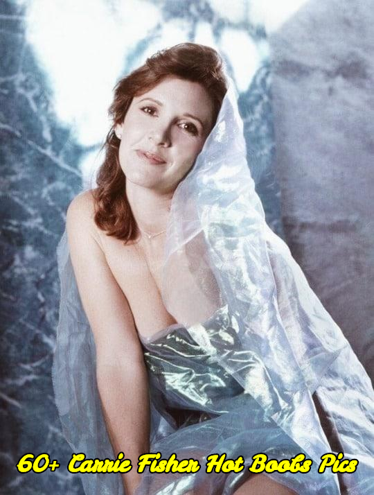 Carrie Fisher hot boobs pics