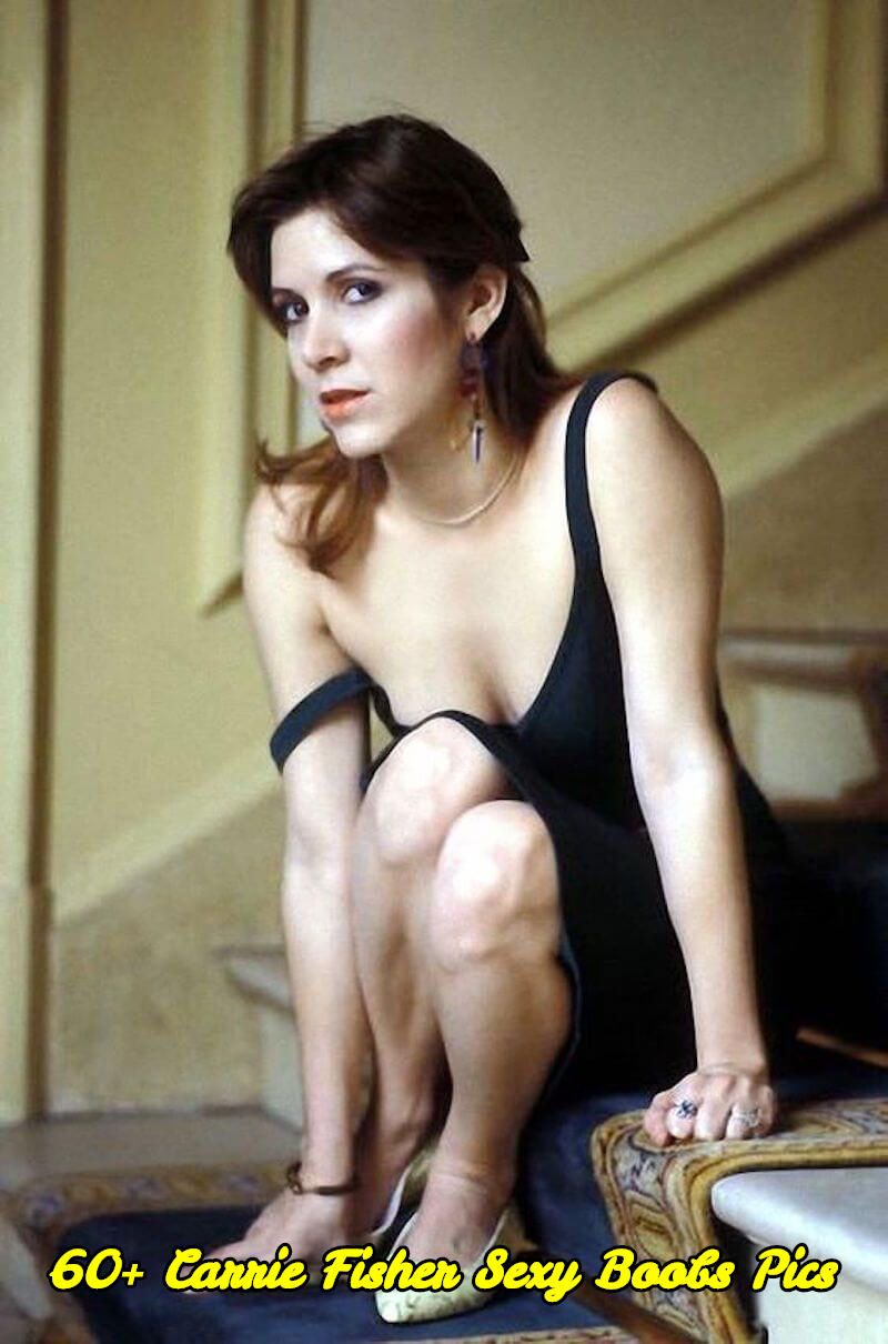 Carrie Fisher sexy boobs pics