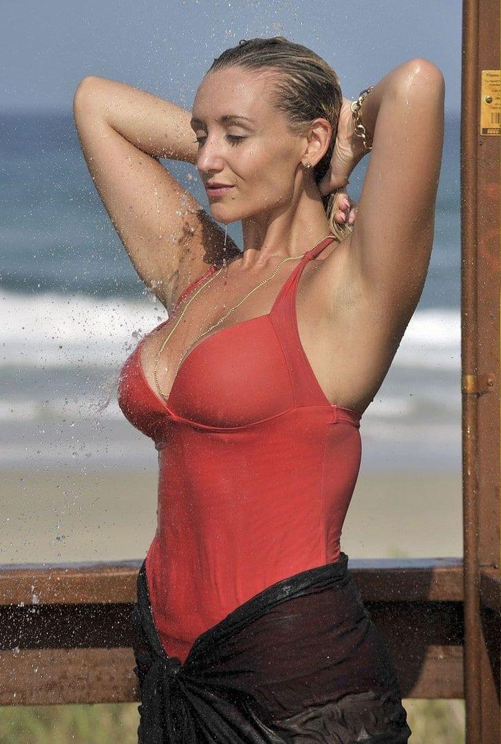 Catherine Tyldesley sexy wet look