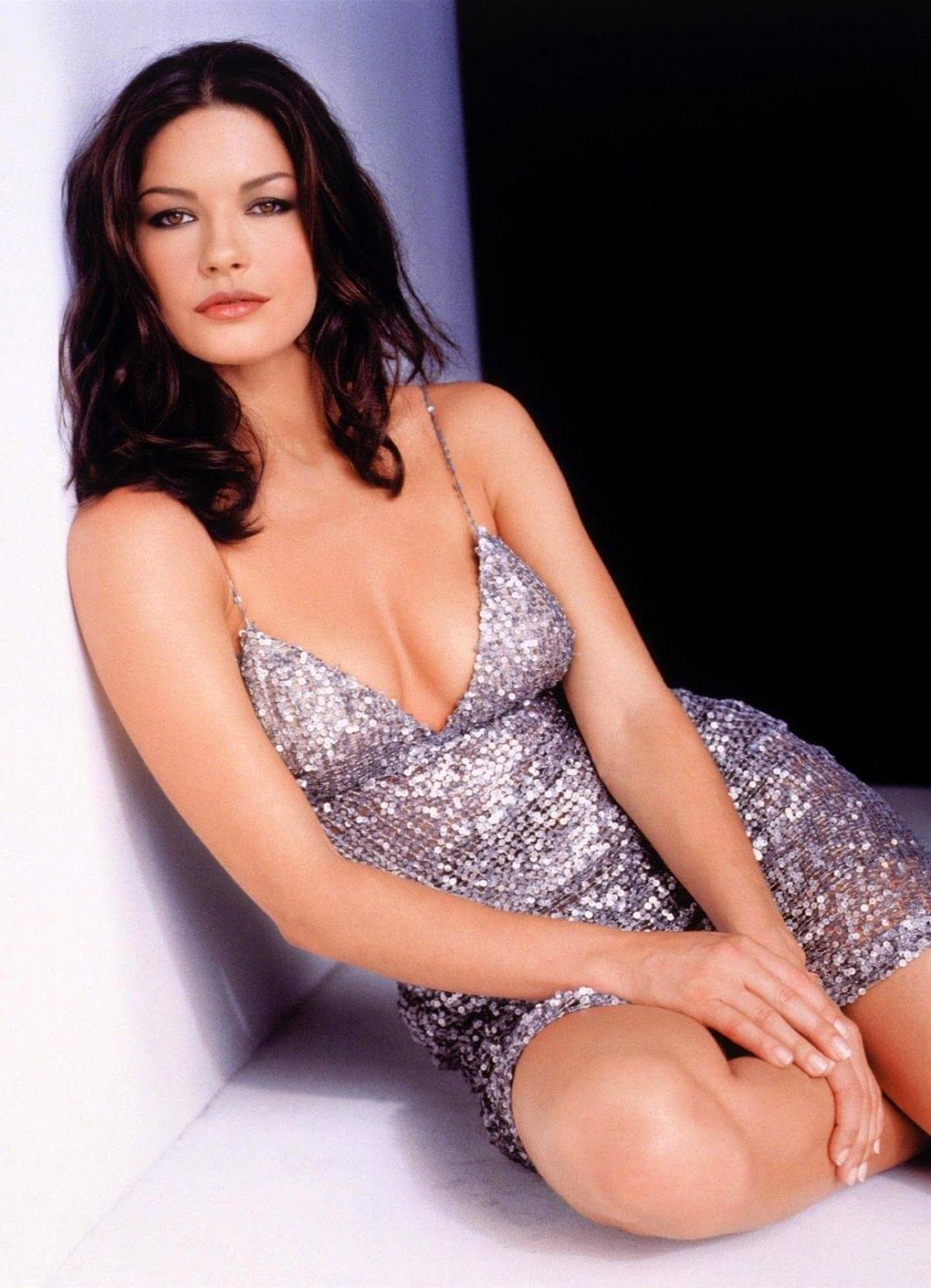 Catherine Zeta-Jones busty pics