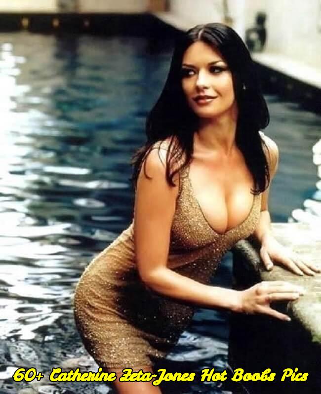 Catherine Zeta-Jones hot boobs pics