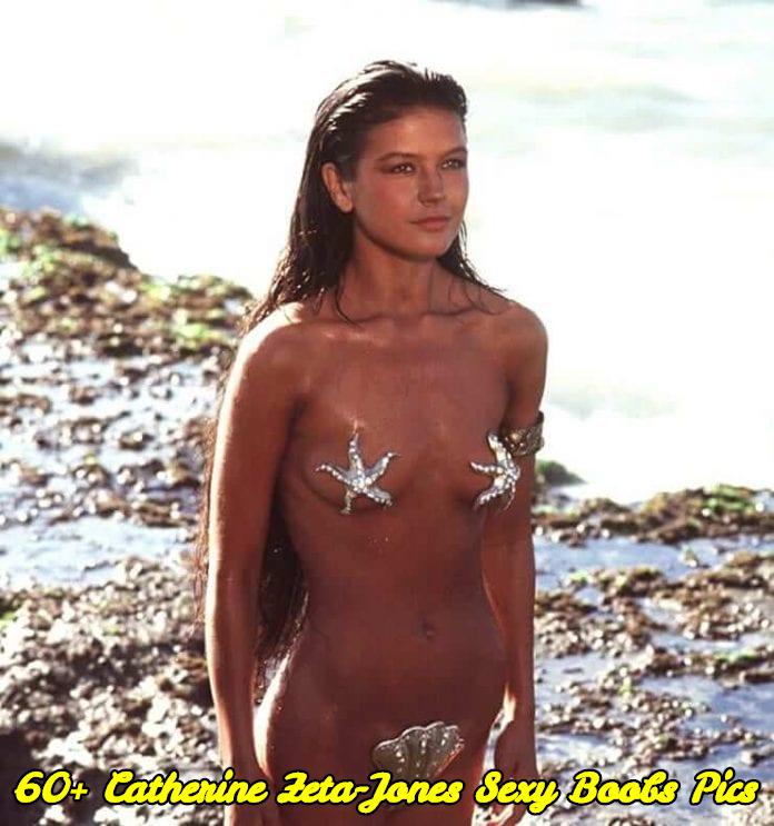 Catherine Zeta-Jones sexy boobs pics