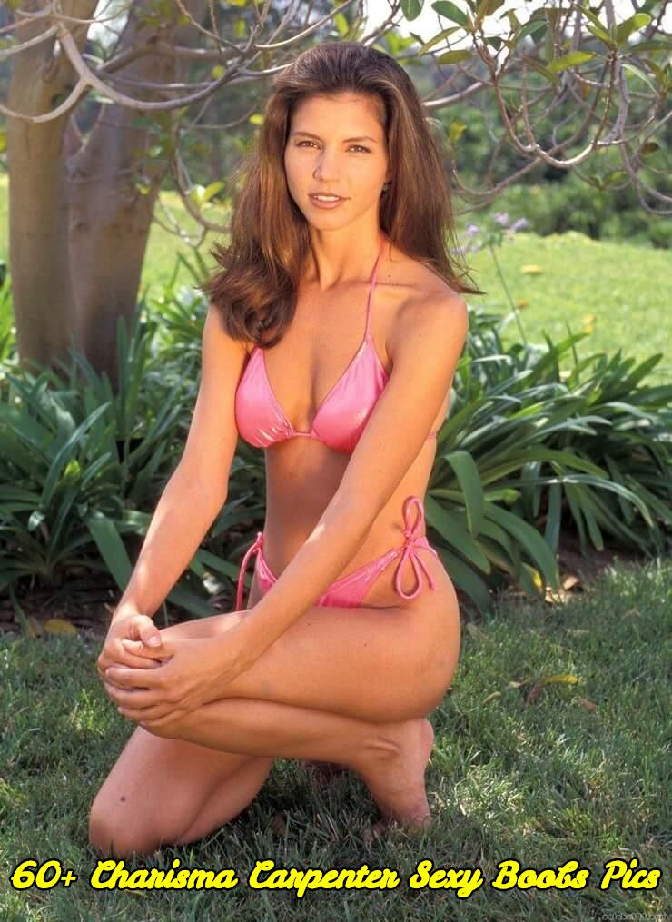 Charisma Carpenter sexy boobs pics