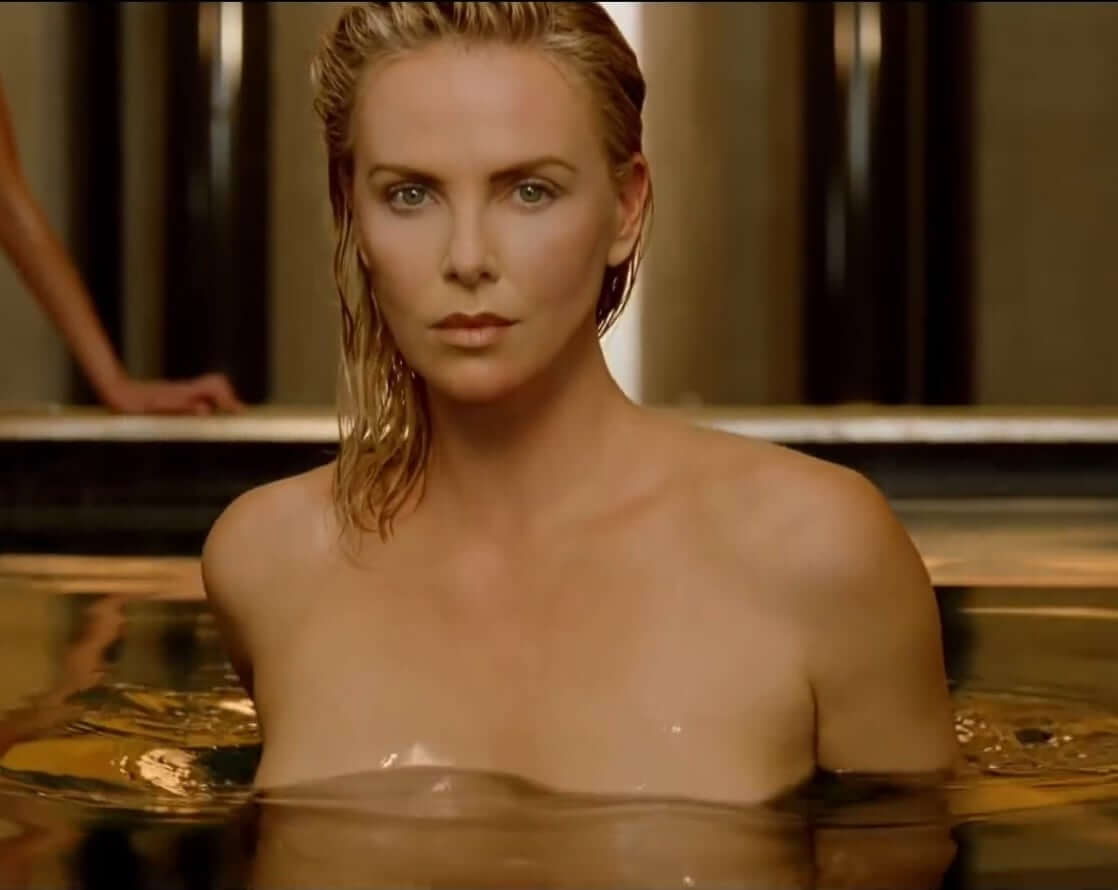 Charlize Theron hot look