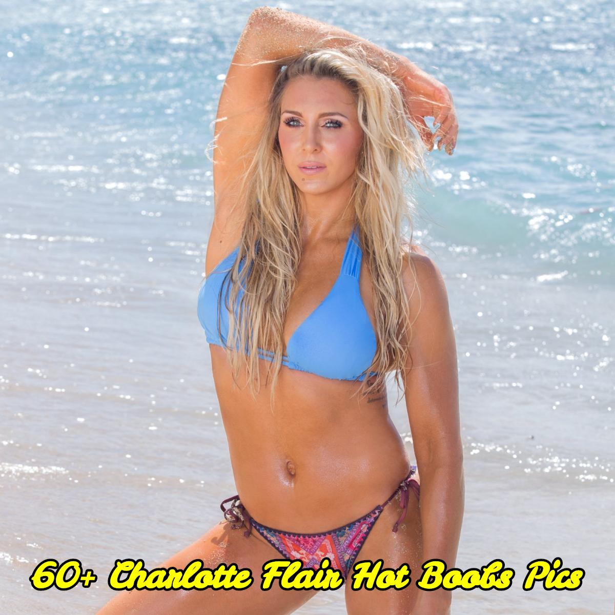 Charlotte Flair hot boobs pics