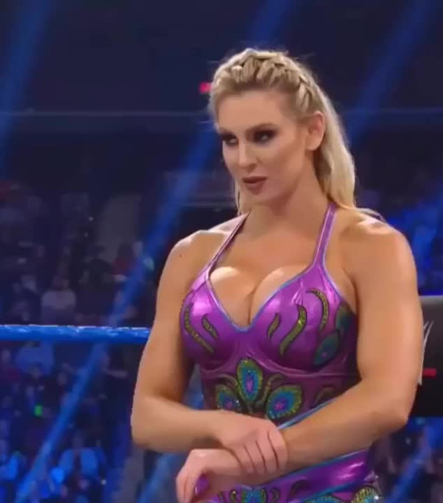 Charlotte Flair hot tits pics