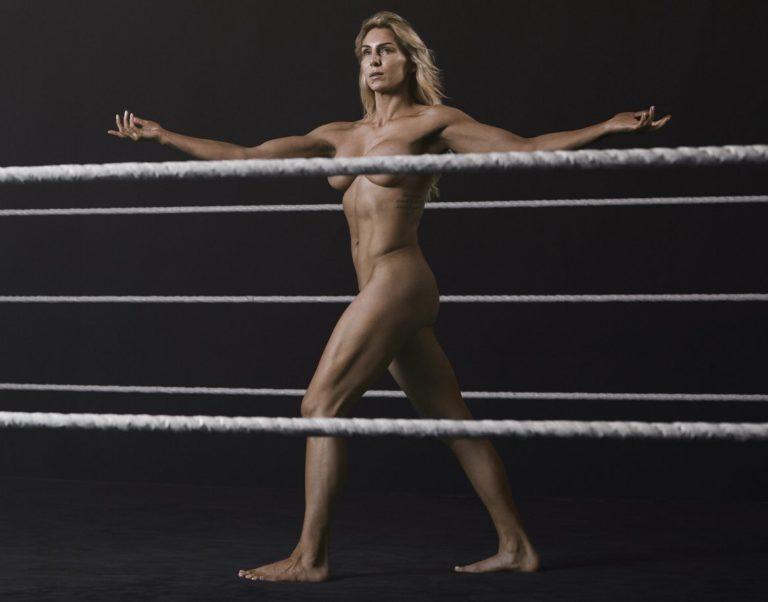 Charlotte Flair near nude pics