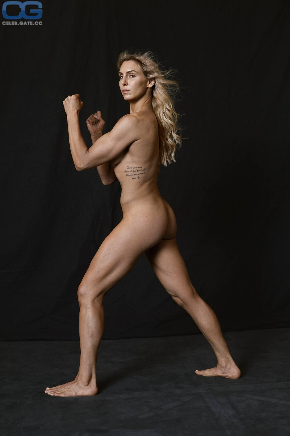 Charlotte Flair sexy side butt pics