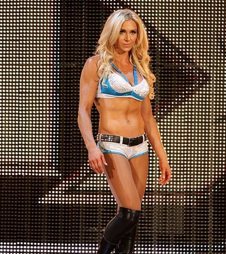 Charlotte Flair sexy tits pics