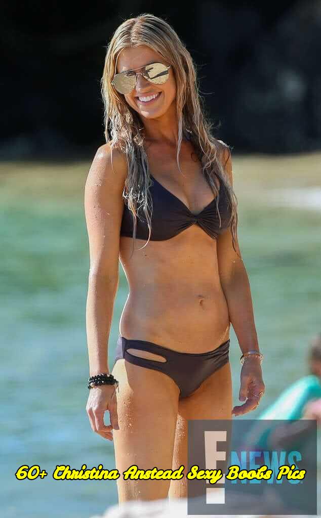 Christina Anstead sexy boobs pics