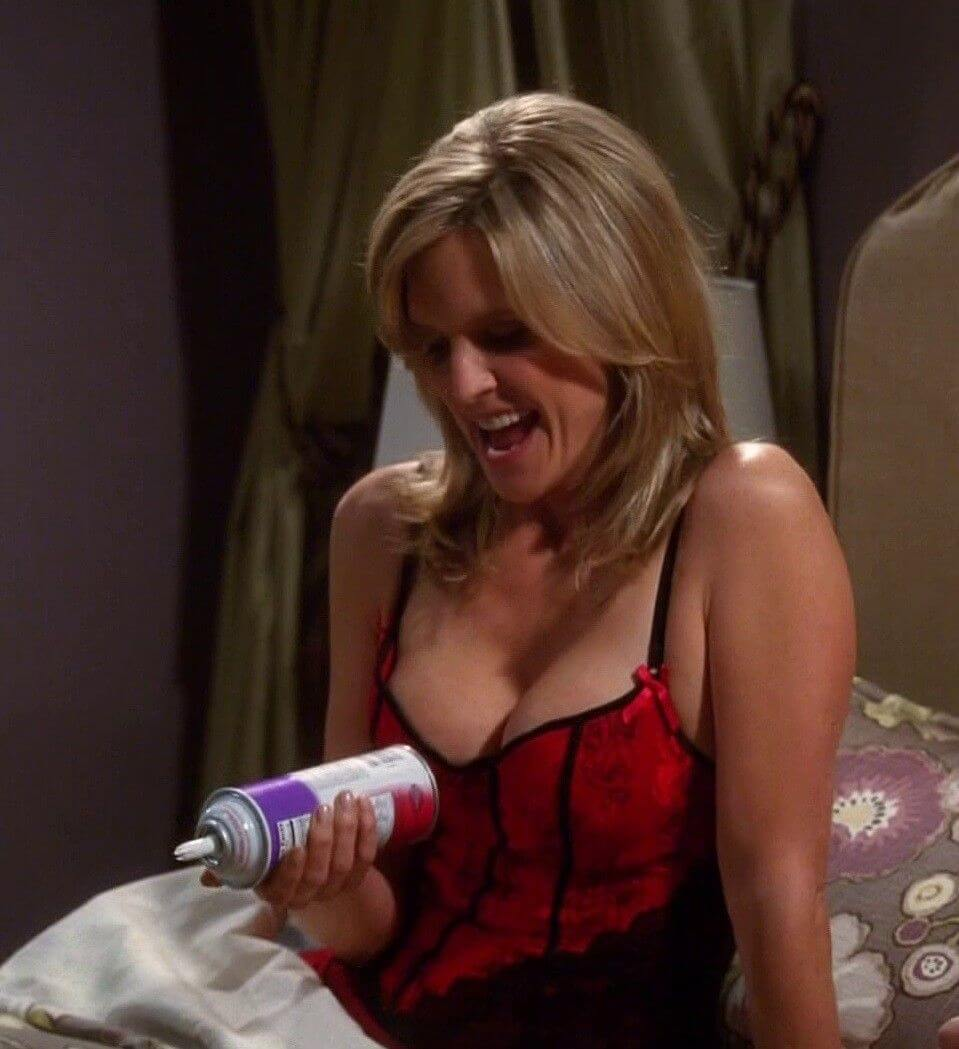Courtney Thorne-Smith hot cleavage