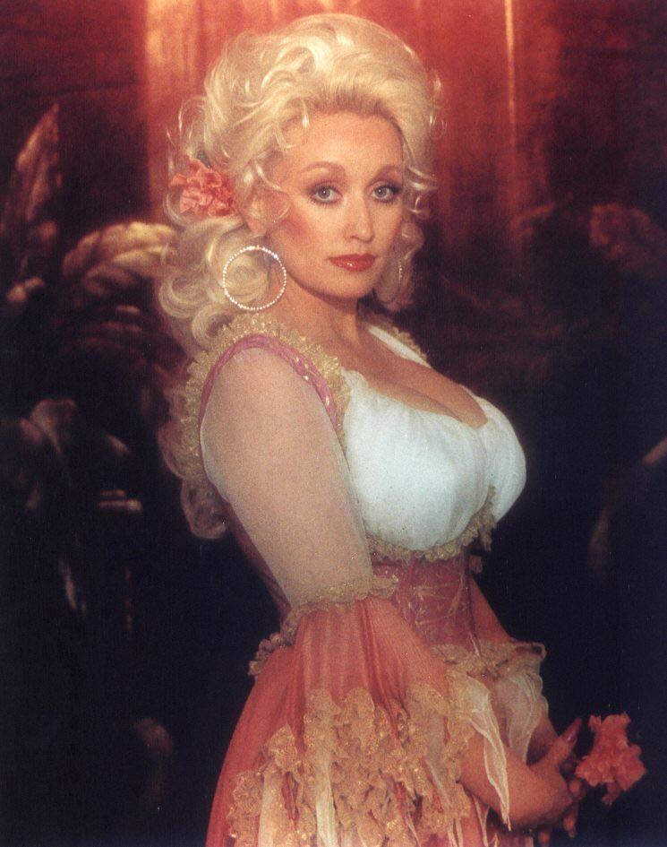 Dolly Parton hot look