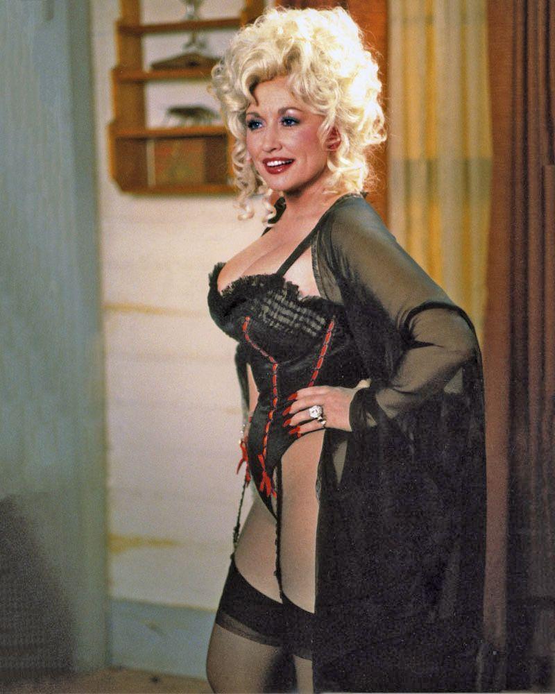 Dolly Parton sexy look