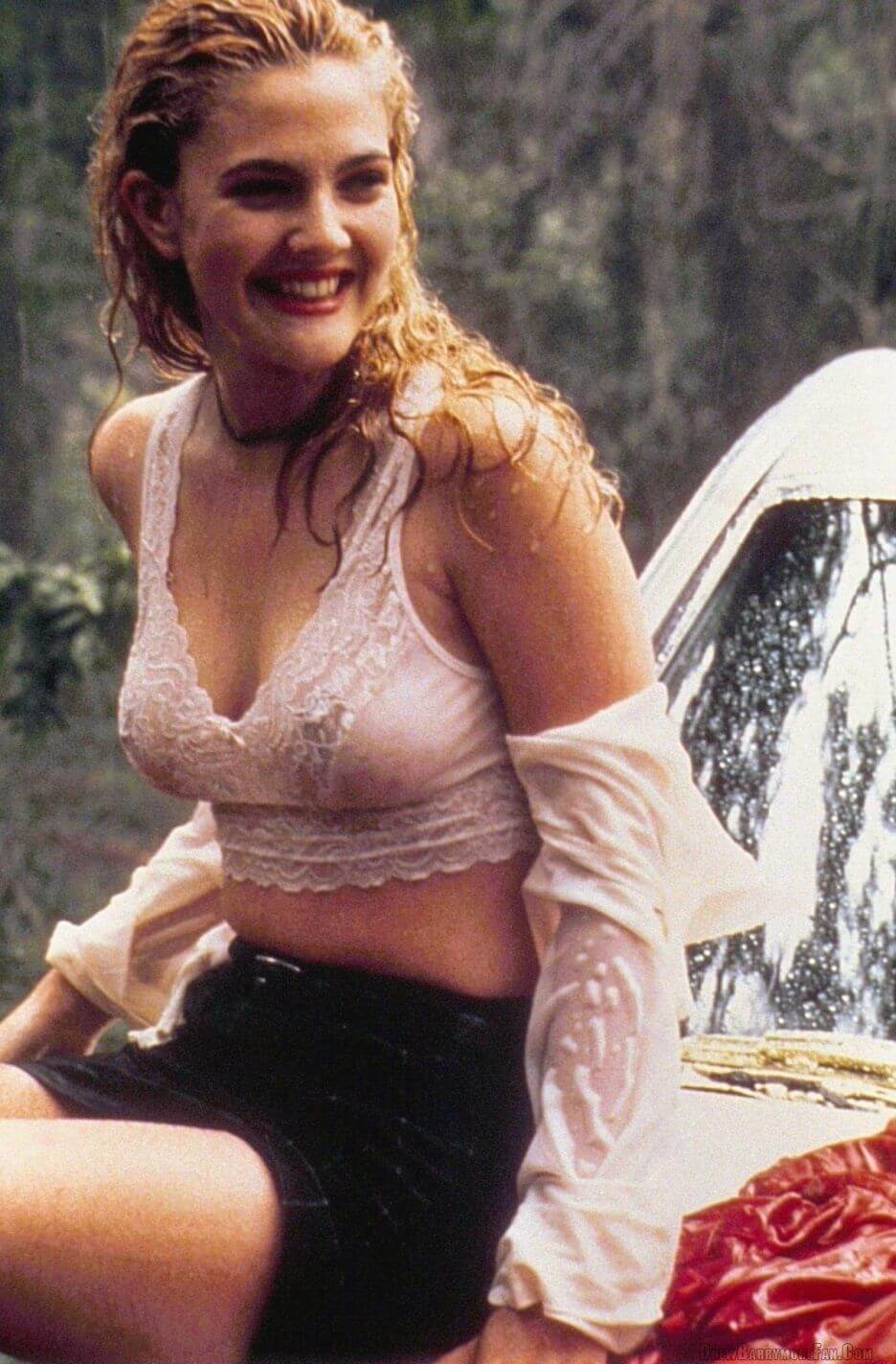 Drew Barrymore boobs pictures