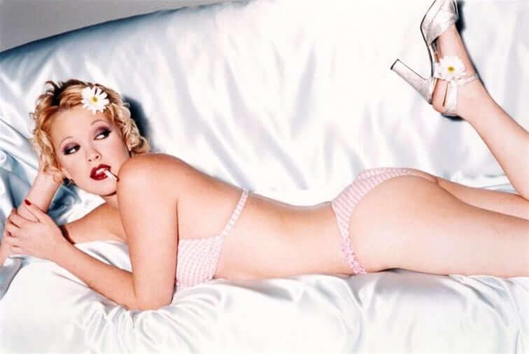 Drew Barrymore sexy butt pics