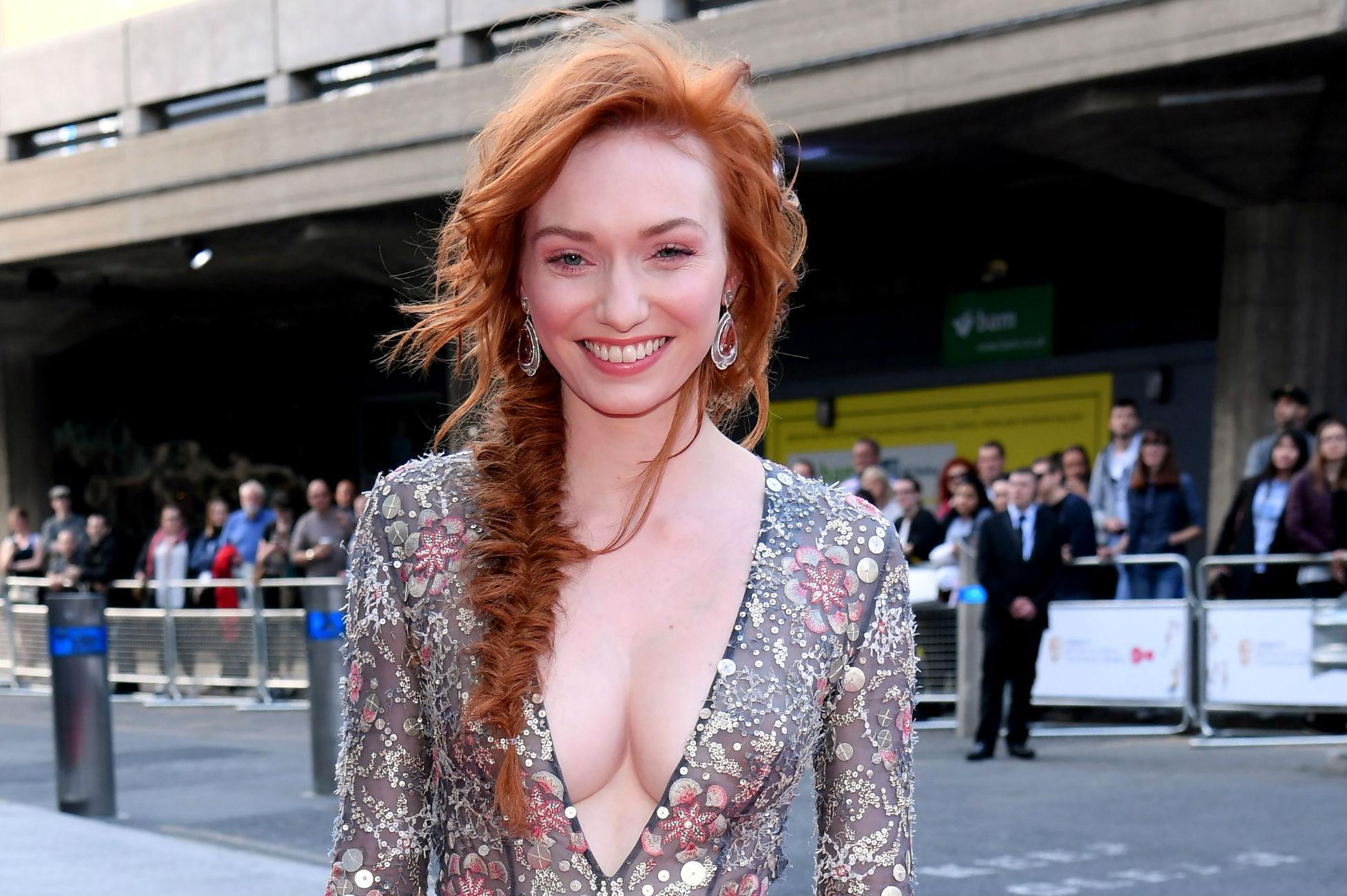 Eleanor Tomlinson nipples