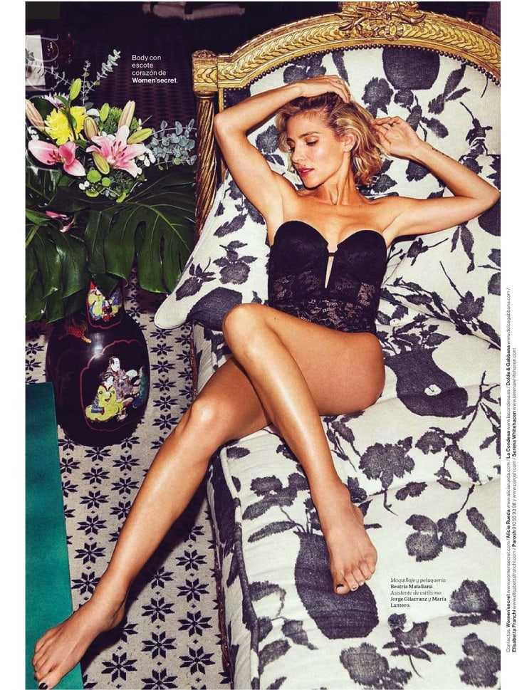 Elsa Pataky hot lingerie pics